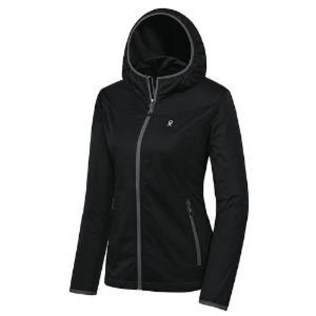 Little Donkey Andy Women's Lightweight Hooded Softshell Jacket for Running