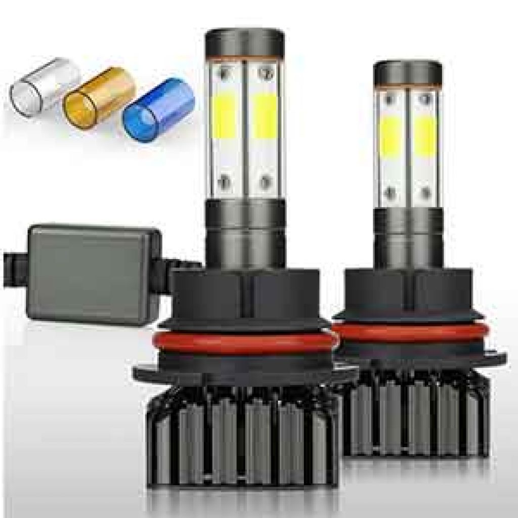 HB5 9007 Led Headlight Bulbs 12000LM Brighter High Low
