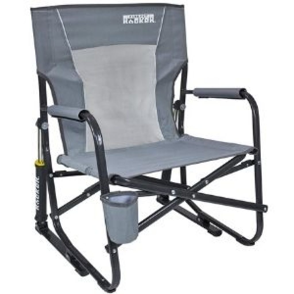 GCI Outdoor FirePit Rocker Low Rocking Chair & Outdoor Camping Chair